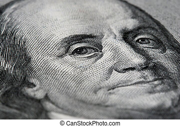 benjamin, macro, conta, dólar, franklin, 100