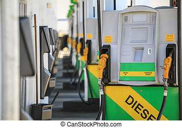 bensin, drivmedel, munstycke, pump, station.