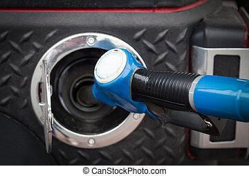 bensin, uppköp