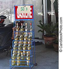 bensinstation, in, thailand