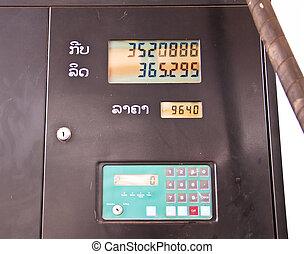bensinstation, pris