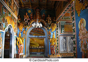 Benthara Galapatha Raja Maha Vihara - the temple Benthara...