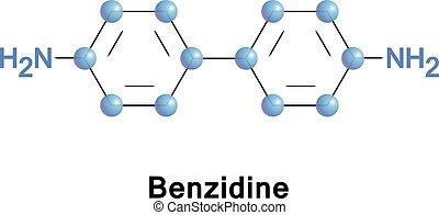 Benzidine or biphenyl diamine