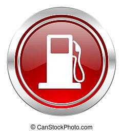 benzina, icona, stazione, gas, segno