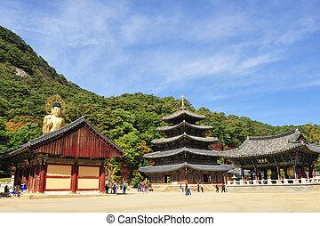 beopjusa, 韓国, 寺院, 南