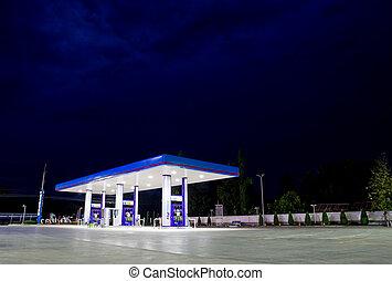 bequemlichkeit, station, gas, kaufmannsladen, einzelhandel