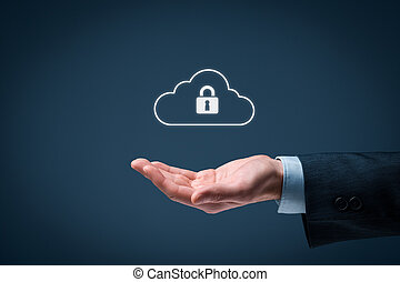 beräkning, moln, säkerhet, data