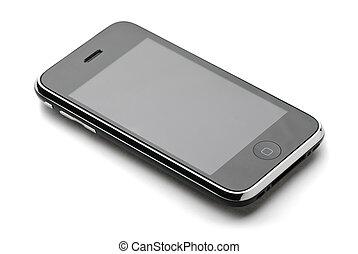 berühren, telefon, schirm, modern
