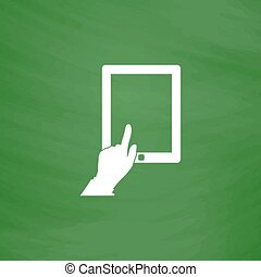 berührungsbildschirm, tablette