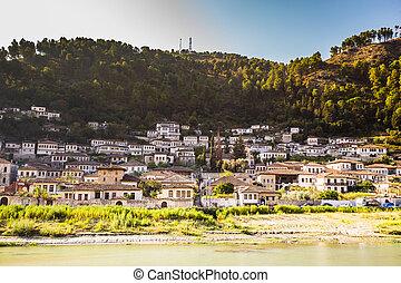 Berat City And Osum River - Berat, Albania