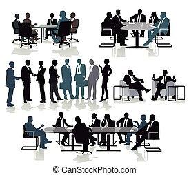 beratung, setkání