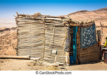 Berber house in Chebika, Tunisia - Berber house in Chebika,...