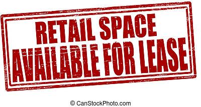 bereikbaar, detailhandel, ruimte, huurcontract