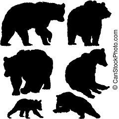 beren, vector, set