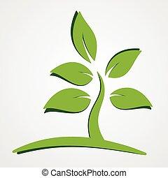 berendezés, fogalom, zöld, természet