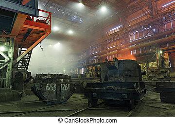 berendezés, műhely, metallurgical