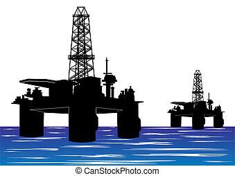 berendezések, olaj fúrás