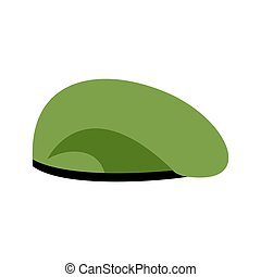 88055755ad3 Fashion beret hat icon vector illustration graphic design.