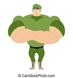 beret., starke , besondere, athletische, groß, muscles.,...