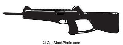 BERETTA CX4 STORM CARBINE - black with white background