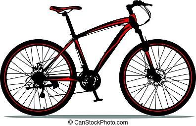 berg, bike.