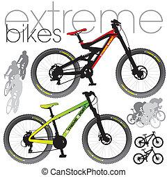 berg bikes, set