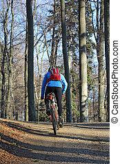 berg biking