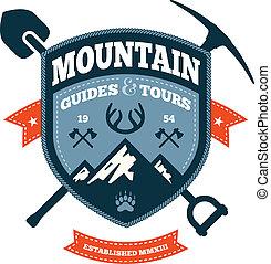 berg, emblem