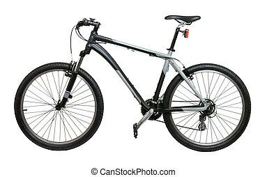mountain bike fahrrad berg ausschnitt radeln pfade stitched freigestellt hoch fahrrad. Black Bedroom Furniture Sets. Home Design Ideas