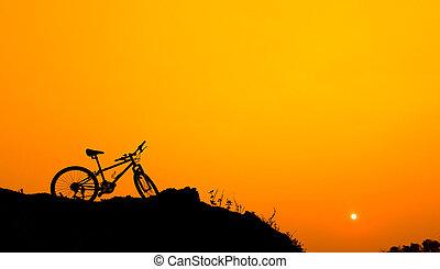 berg, Fahrrad