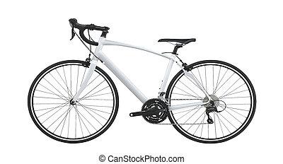 berg, fiets, fiets
