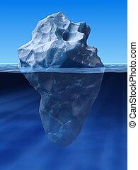 berg, ghiaccio