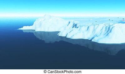 berg, glace