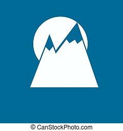 berg, ikone