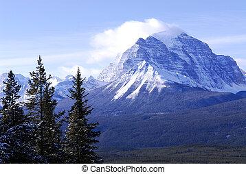 berg landschap