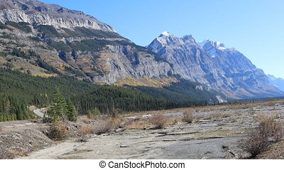 berg overzicht, in, nationaal park banff, alberta