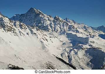 berg, ski