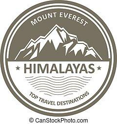 berg, snowbound, himalayas