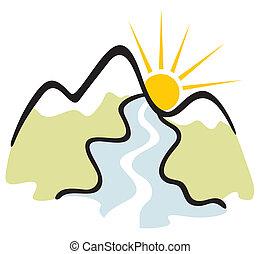 berg,  symbol