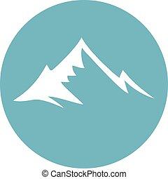 berg, symbool