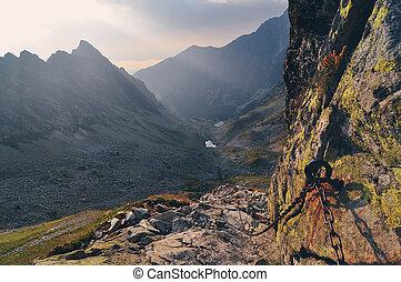 berg, tatras, hoog, slowakije, landscape, aanzicht