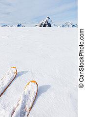 berg, (the, m, t?µ?a? ???????, tips, achtergrond, ski, landscape