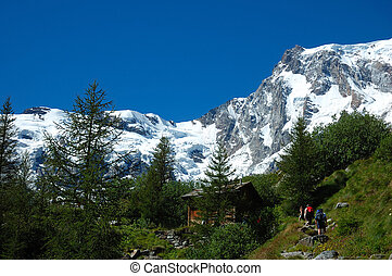 berg, trekkers
