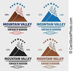 berg vallei, logo