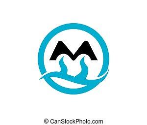 berg, vector, mal, logo