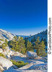 berg, verenigd, hdr, ongelofelijk, nationale, states., park, formaties, californië, beroemd, rots, wereld, beeld, yosemite