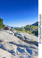 berg, verenigd, ongelofelijk, nationaal park, formaties, staten, beroemd, rots, wereld, californië, yosemite
