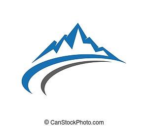 berge, logo