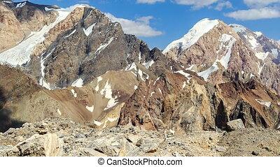 bergen, en, clouds., pamir, tajikistan., timelapse