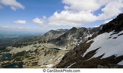 bergen, landscape, timelapse